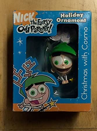 nickelodeon the fairly odd parents christmas with cosmo holiday ornament - Fairly Oddparents Christmas