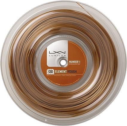 Luxilon Element Rough 1.30//16G Tennis String Bronze WRZ997130:SET