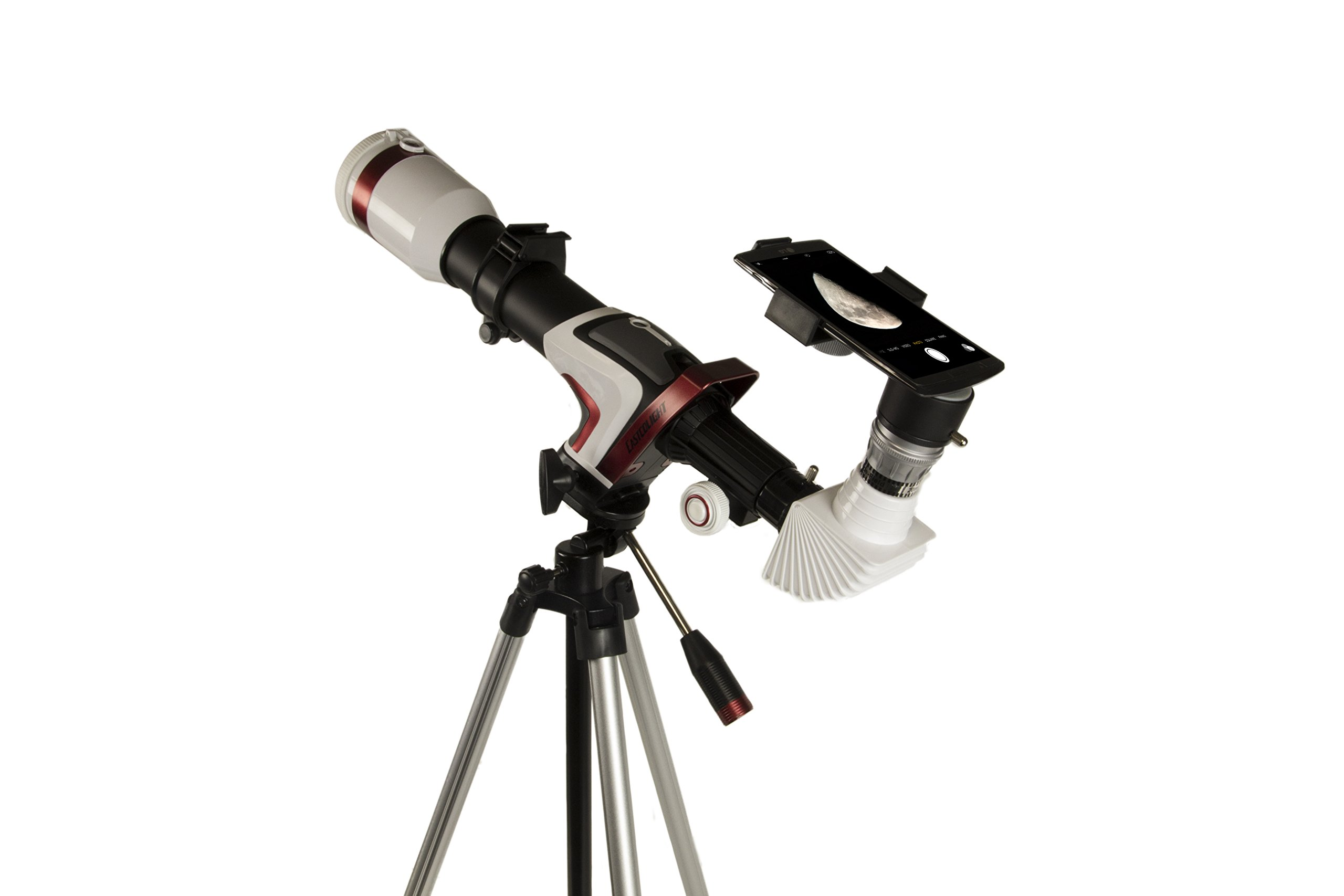 Galaxy Tracker Advanced Smartphone Enabled 50mm Objective Lens Telescope by Scientifics Direct