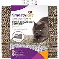 SmartyKat Super Scratcher Squared of Corrugated Cardboard Scratchers with Catnip (2 Pack)