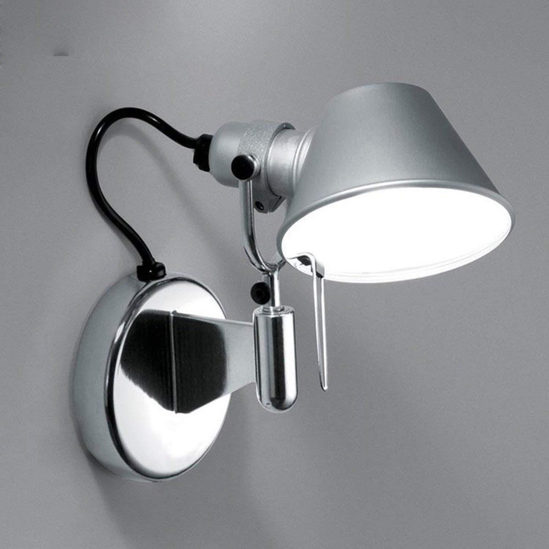 FuweiEncore um die kreative Lounge Moderne Wandleuchte Schlafzimmer Nachttischlampe Aluminium Haupt nur Lichter Wand E27 zu starten (Farbe   -, Größe   -)