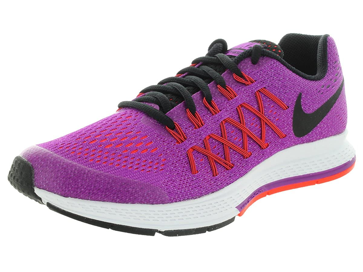 separation shoes 25ff3 9bea7 Amazon.com: Nike Girls' Zoom Pegasus 32 Running Shoes-Vivid ...