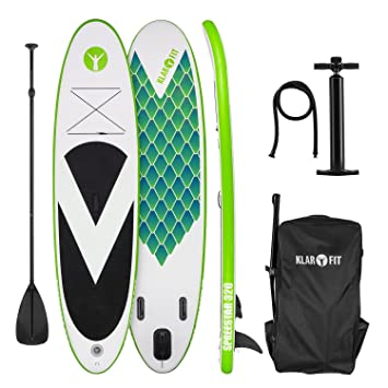 Klarfit Spreestar 320 • Tabla de pie Hinchable • Paddleboard • Paddle Surf • Tabla Sup