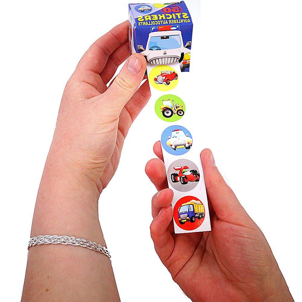German Trendseller® 3 x Magische Sticker Boxen mit 150 StickernNEU