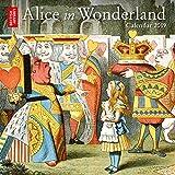 British Library - Alice in Wonderland mini wall calendar 2019 (Art Calendar)