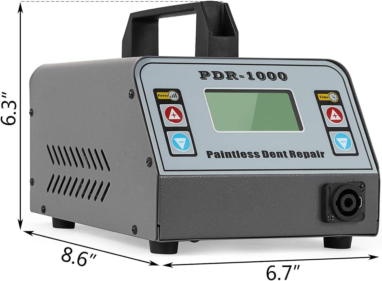 Mophorn Induktionsheizger/ät 1100W Hot Box Reparatur 6A Ausbeulspotter Dent Repair mit Zeitmodus und Energiemodus f/ür die Autoreparatur 1100W