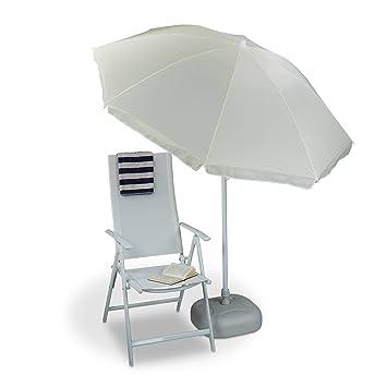 Schutzhülle für Sonnenschirm Transparent 200 cm Gartenschirm Schirm Sonnenschutz