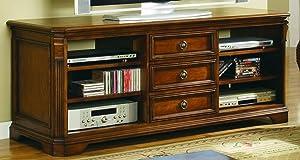 Hooker Furniture Brookhaven 64'' TV Console, Medium Wood