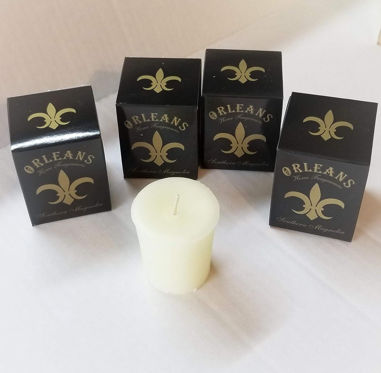 Orleans Home Fragrances Set of 4 Votives Southern Magnolia