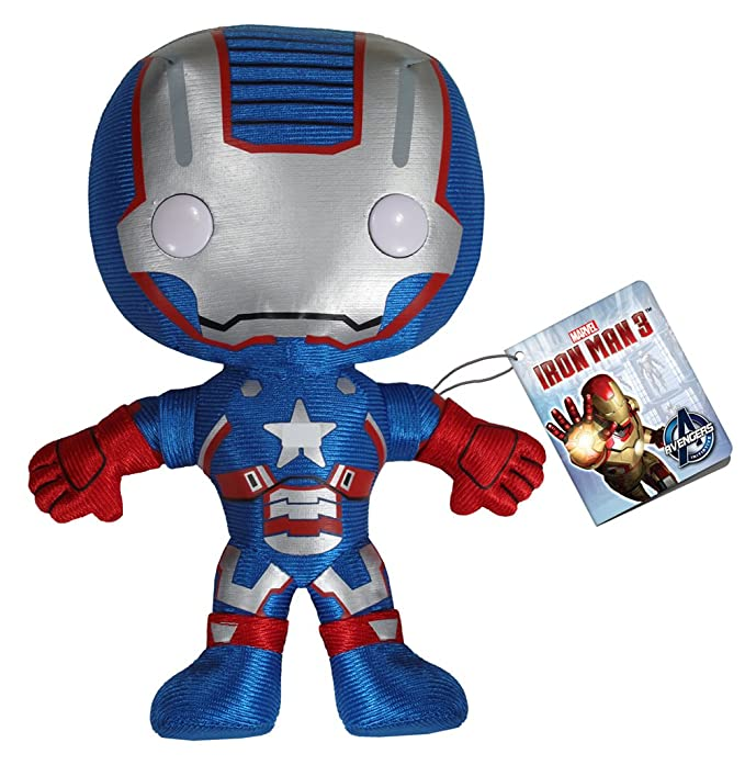 Amazon.com: Funko Marvel Iron Man Movie 3: Hierro Patriot ...