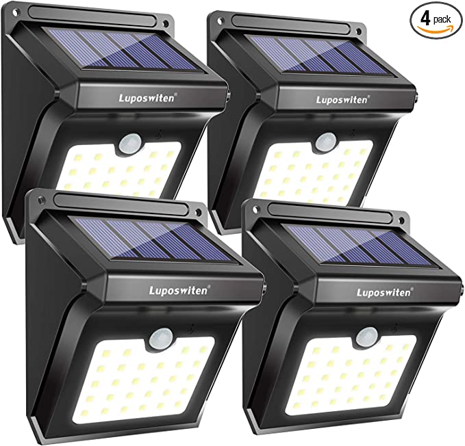 Details about  /74LED 100COB Outdoor Garden Lamp Solar Light Motion Sensor Security Wall Light