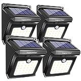 28 LEDs Solar Lights Outdoor, Luposwiten Solar