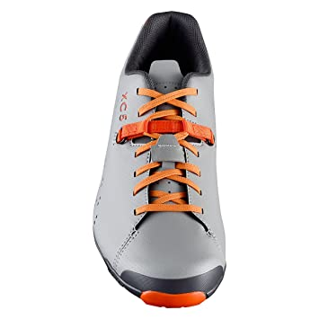 d57a60d84ad841 SHIMANO SH-XC5 Mountain Bike Shoe - Men s Grey Orange  44  Amazon.co ...