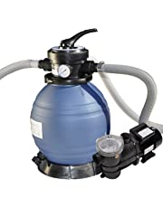 Solstice by International Leisure Products Swimline 71233 12-Inch Sand Filter Combo with Debris Trap Pre-Filter