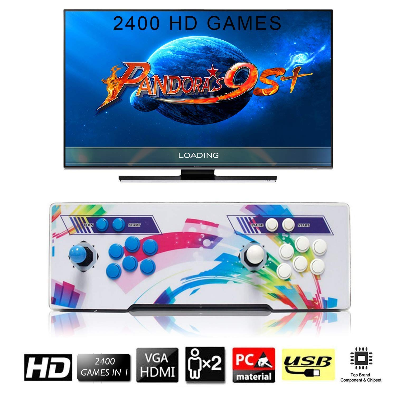 [2400 Giochi Classici] Arcade Game Console, SeeKool Pandoras Box 9s+ Joystick 2 giocatori