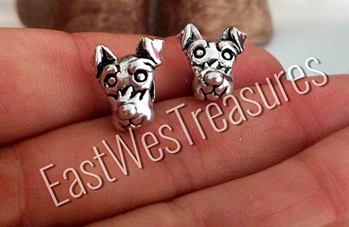 32c2b923e Image Unavailable. Image not available for. Color: Schnauzer Scottish  Scottie West Highland terrier dog charm ...