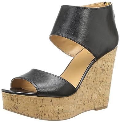 fd579656a3e Nine West Women s Caswell Wedge Sandal