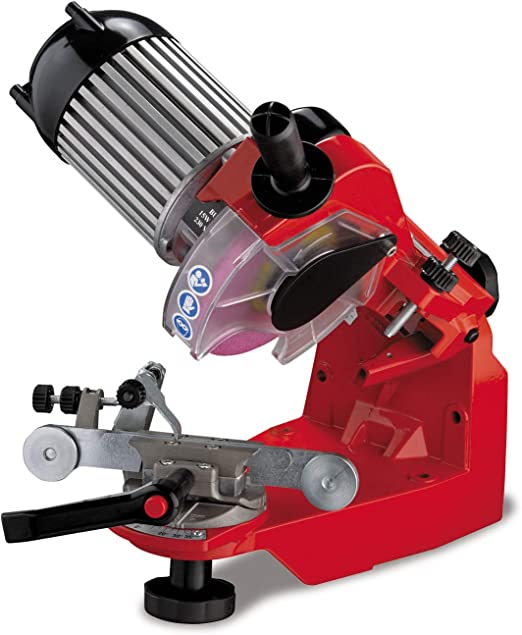 120V Tecomec Super Jolly Bench Mounted Chain Grinder with Hydraulic Clamp 115