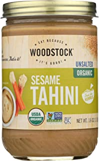 product image for Woodstock Farms Organic Sesame Tahini, 16 Ounce - 12 per case.