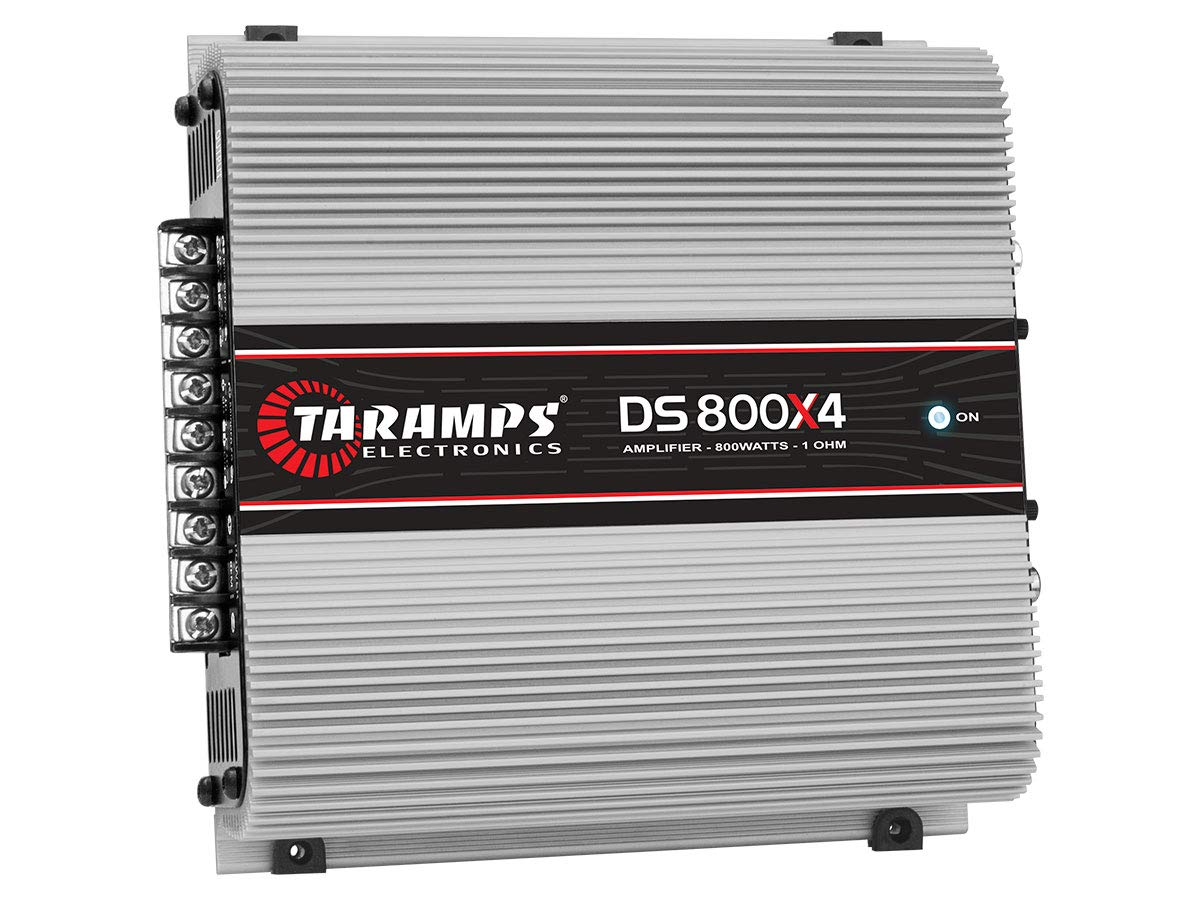 Taramp's DS 800x4 2 Ohms 4 Channels 800 Watts Amplifier by Taramp's