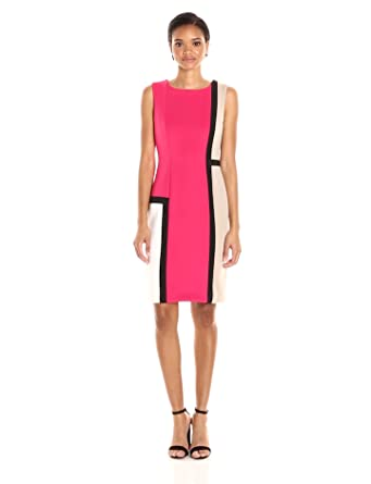 Calvin klein dresses color block