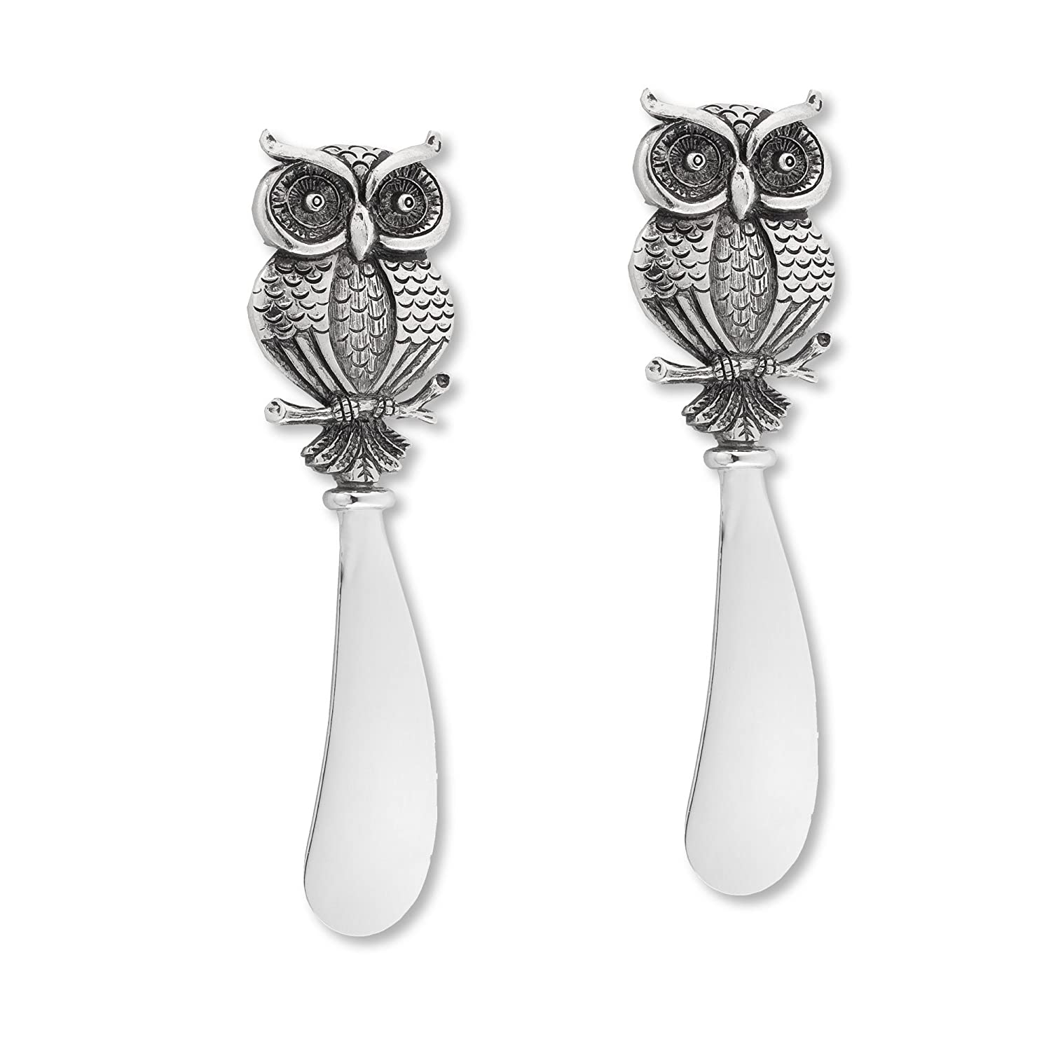 Owl Cheese Spreader Set of 2 by Supreme Housewares 00787