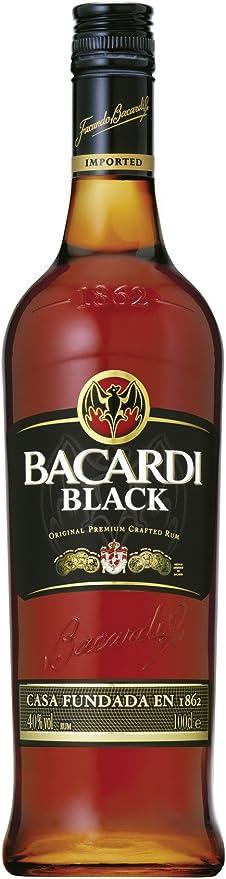 Bacardi Black Rum 1 Litre: Amazon.es: Alimentación y bebidas