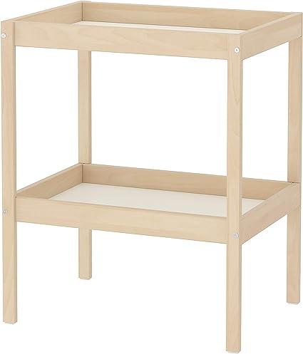 IKEA.. 501.975.89 Sniglar - Mesa cambiadora, Color Beige y Blanco ...