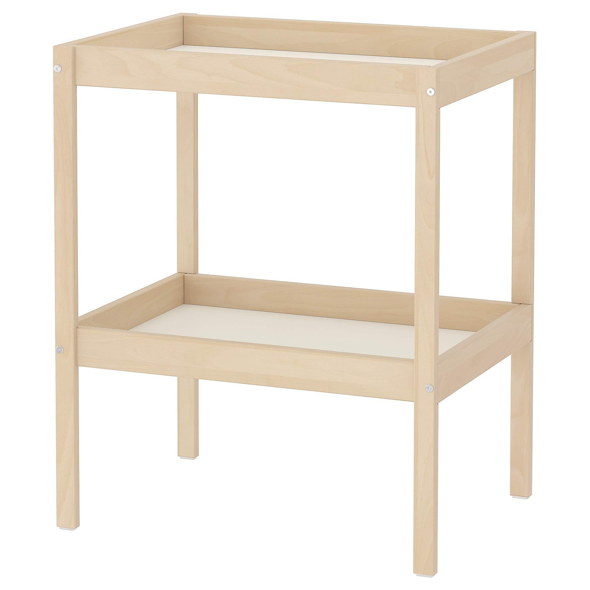 IKEA.. 501.975.89 Sniglar Changing Table, Beech, White