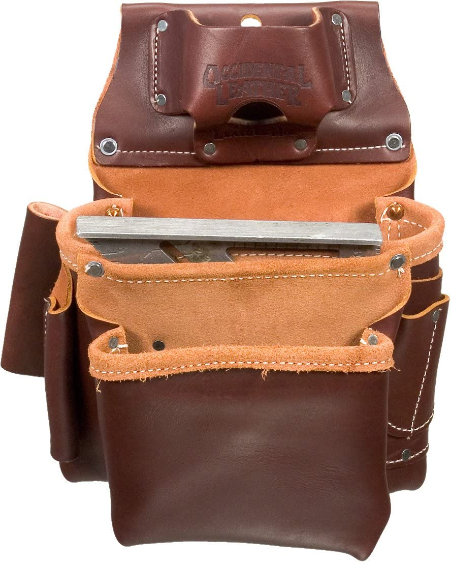 Occidental Leather 5061LH 2 Pouch Pro Fastener Bag