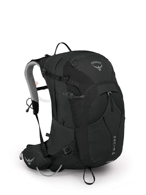 (オスプレー) OSPREY MEN`S HIKING マンタ34 バックパック (並行輸入品) B07NX8JKMG ブラック One Size