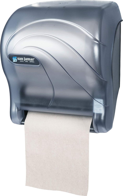 San Jamar t8090tbl océanos esencia manos libres dispensador de toalla de papel - Color Azul: Amazon.es: Hogar