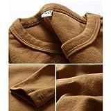 KISBINI Unisex Toddler Girls Cotton Long Sleeve