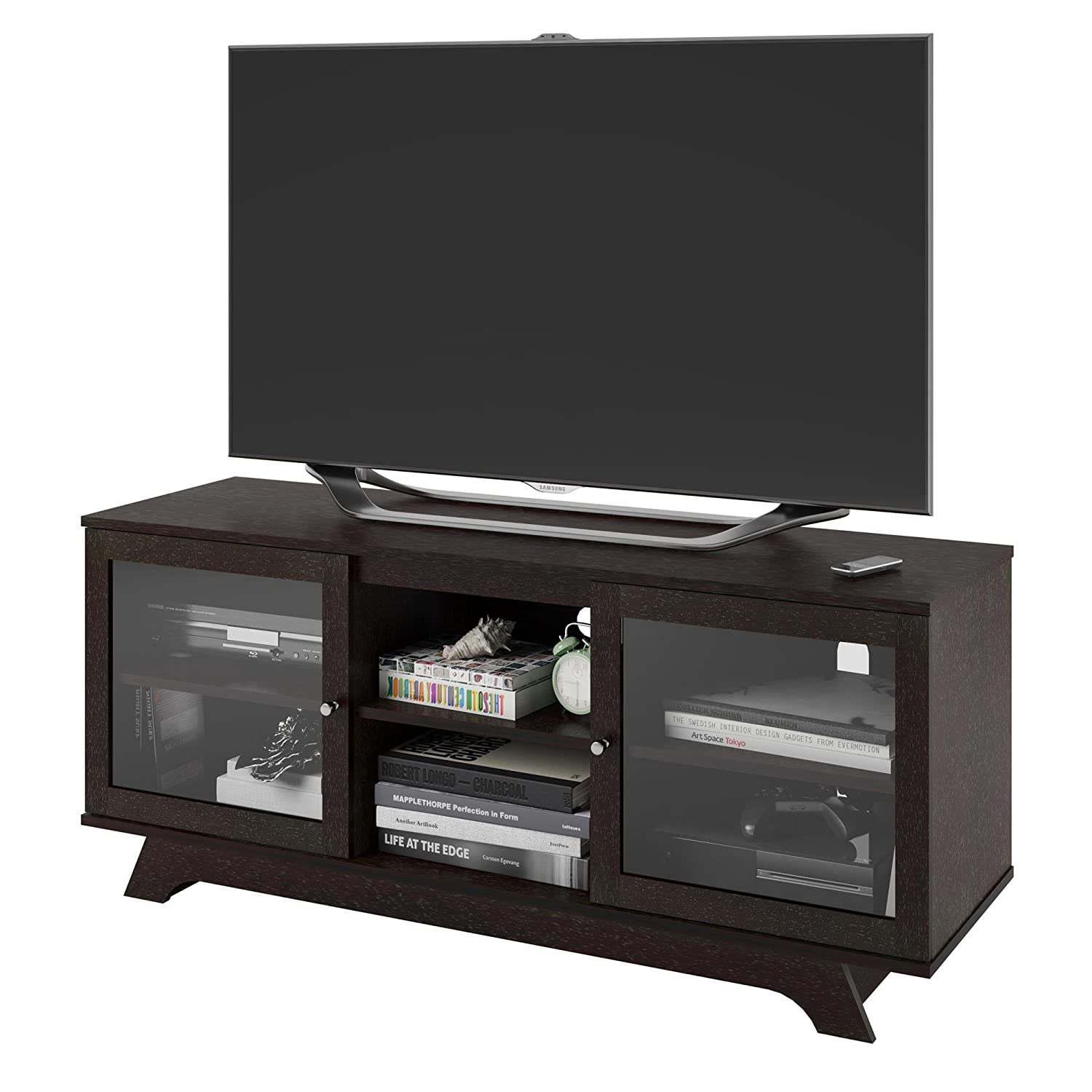 Amazon.com: Ameriwood Home Englewood TV Stand for TVs up to 55 ...