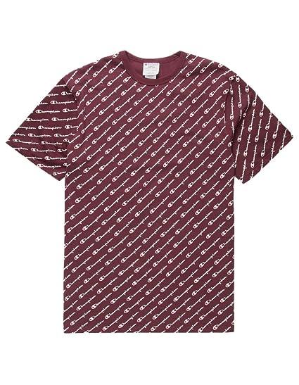 903ca41b Amazon.com: Champion LIFE Heritage Tee-All Over Script: Clothing