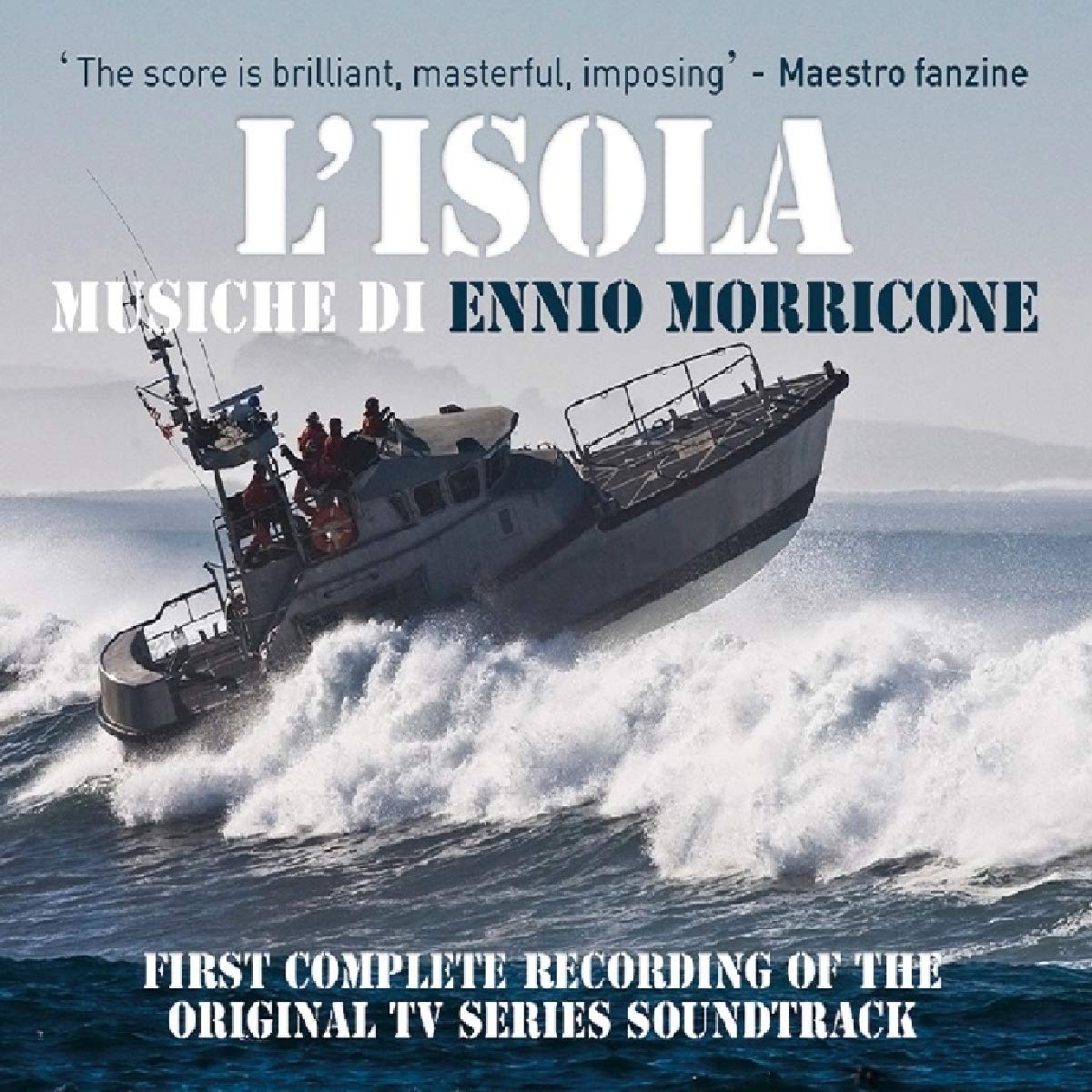 CD : Ennio Morricone - L'isola (original Soundtrack) (Italy - Import)
