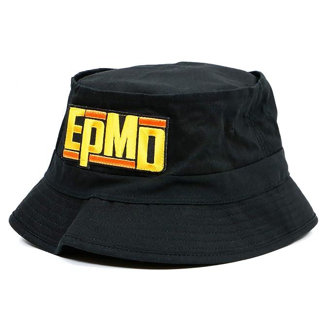 1477d623d Control Industry EPMD Logo Bucket Hat Black at Amazon Men's Clothing ...