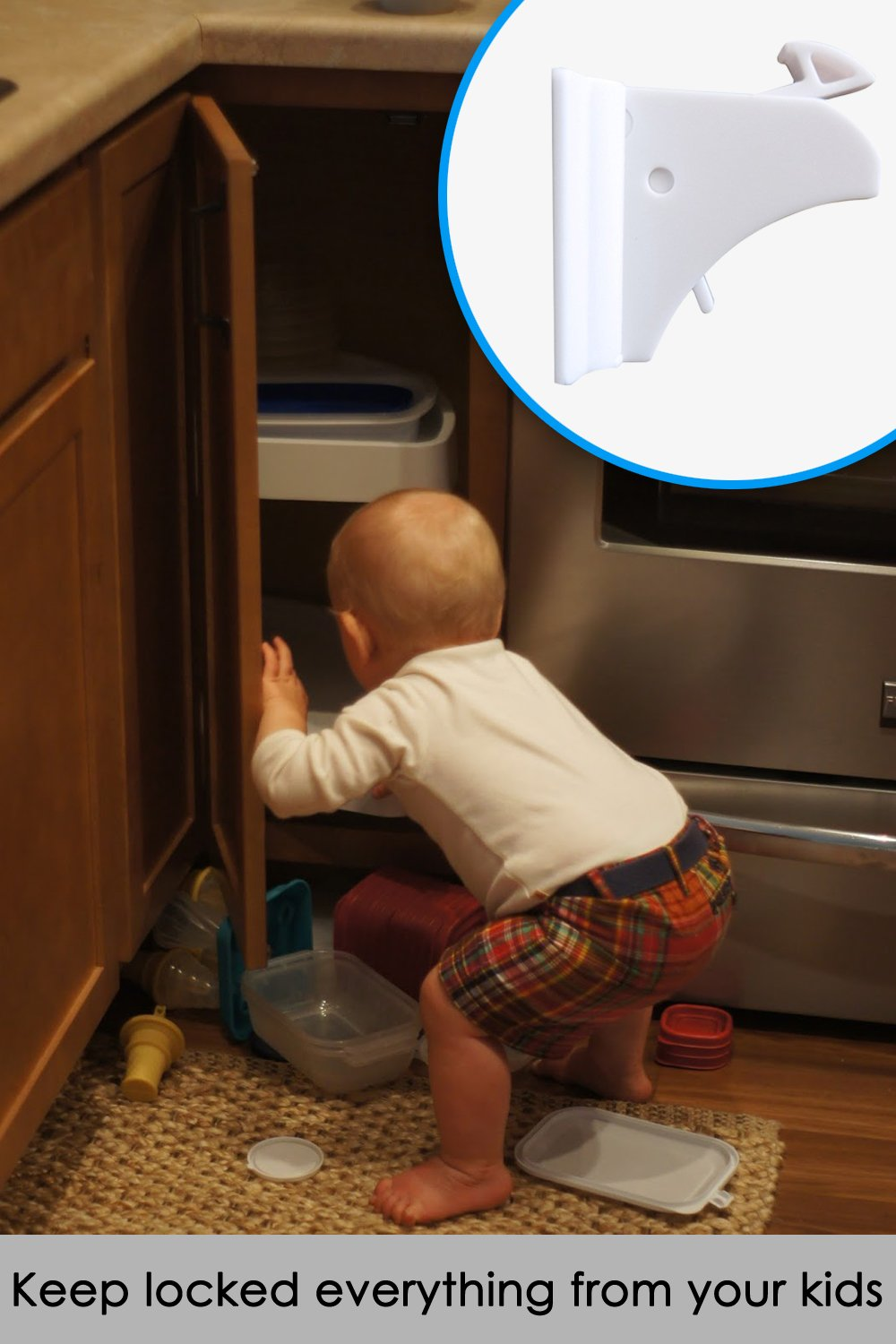 Amazon.com : Safety Baby Magnetic Cabinet Locks and for Drawer ...