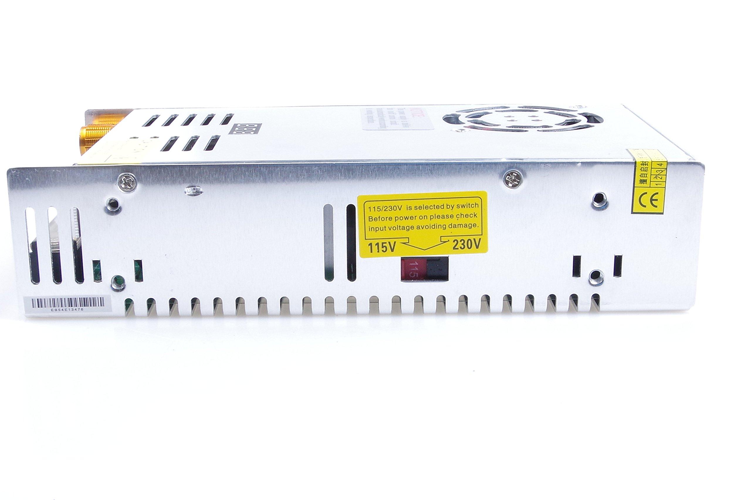 Adjustable DC Power Voltage Converter AC 110V-220V to DC 0-80V Module 80V 6A Switching Power Supply Digital Display 480W Voltage Regulator Transformer Built in Cooling Fan (DC 0-80V 6A) by TOFKE (Image #7)