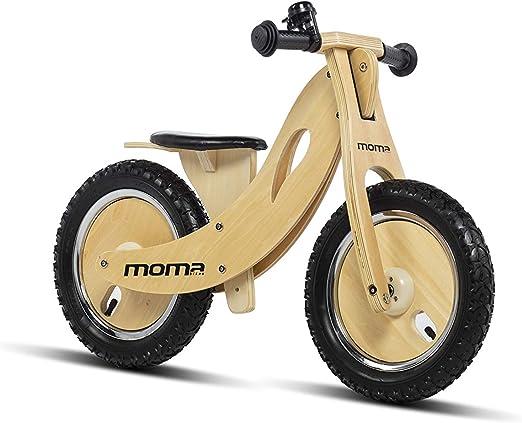 Moma Bikes Woody Sport Bicicleta, Unisex niños, Madera, Talla ...