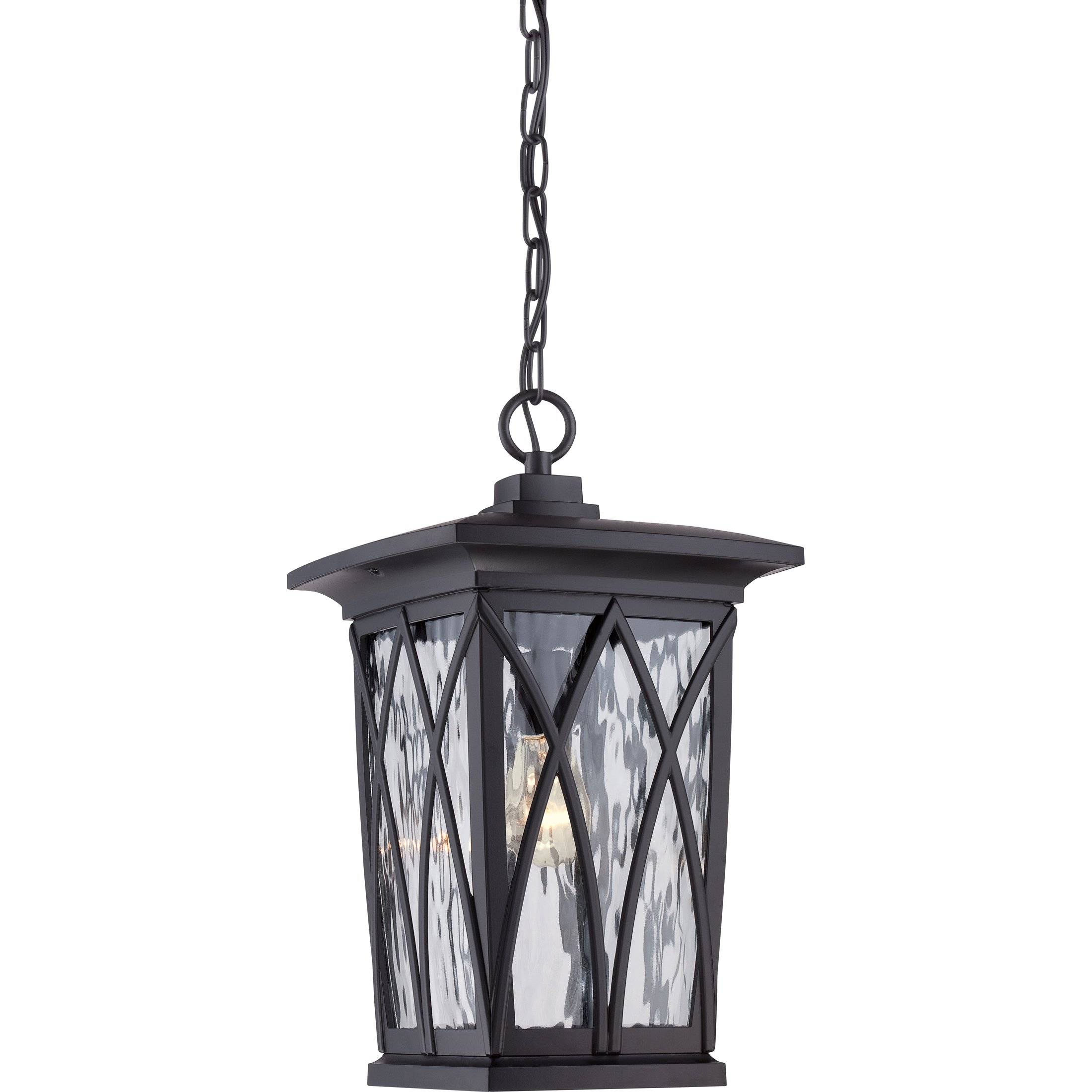 Quoizel GVR1910K One Light Outdoor Hanging Lantern by Quoizel