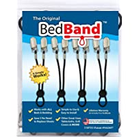 Bed Band Not Made in China. 100% USA Worker Assembled.. Bed Sheet Holder, Gripper, Suspender and Strap. Smooth any Sheets on any Bed. Sleep Better. Patented.