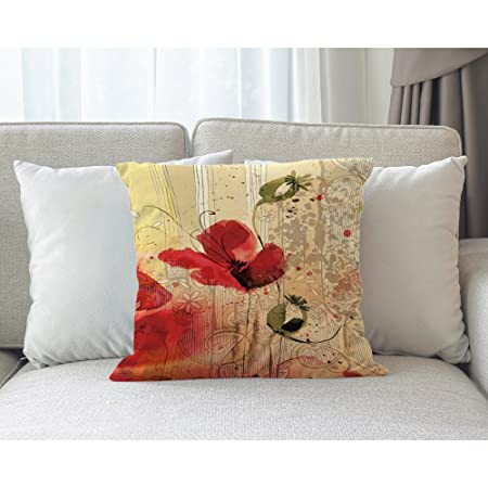 Amazon.com: Moslion - Funda de almohada con diseño de pavo ...