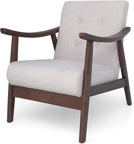 Christopher Knight Home Aurora Mid-Century Modern Accent Chair