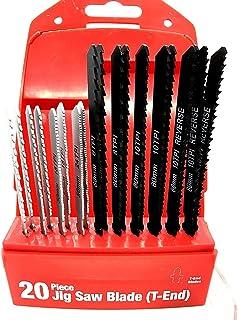 Key Blades and Fixings T101B 10 X 5 Packs 50 Jigsaw Fine Cut Blades