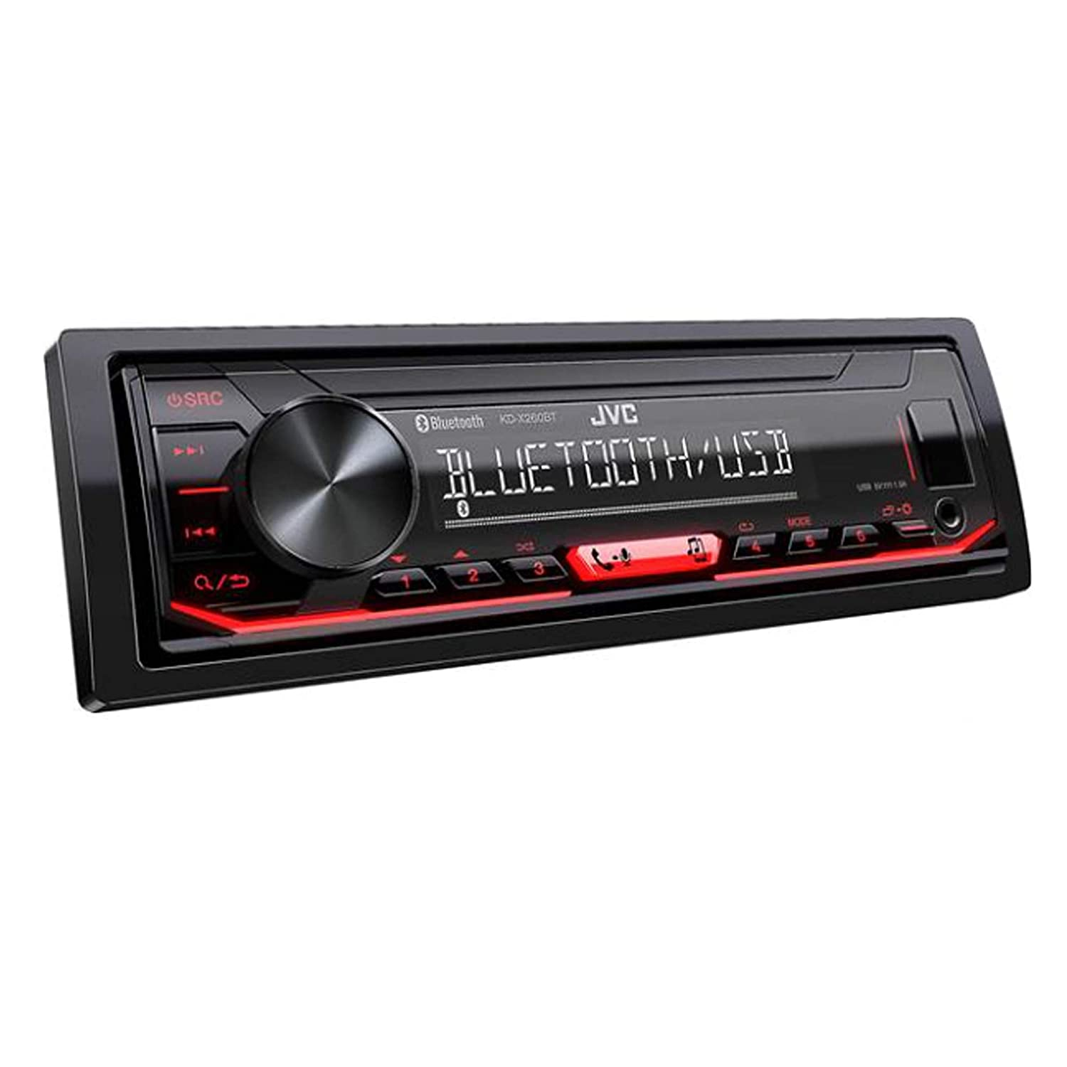 jvc kd x360bts 1 din bluetooth in dash mechless am fm digital media car stereo receiver with pandora iheartradio spotify control JVC 16 Pin Connector