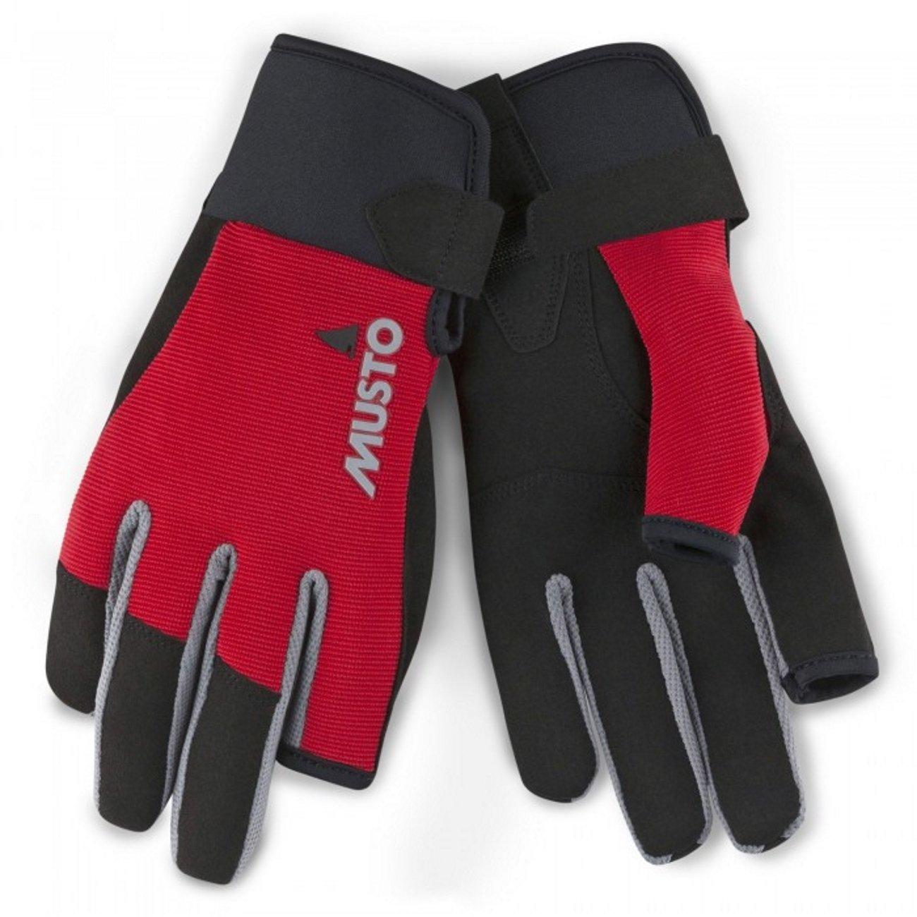 特価ブランド Musto Long Essential Long Finger Sailing Gloves – 2018 B079J3N87M – Musto True Red B079J3N87M Large, DVDCDケース卸販売コーサカ:81e00955 --- ciadaterra.com