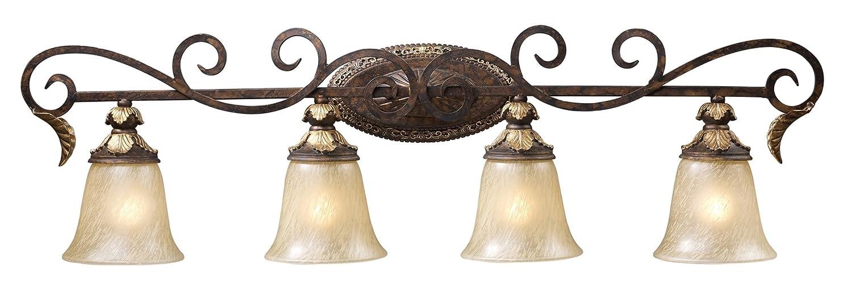 Elk 2153/4 4-Light Vanity in Burnt Bronze