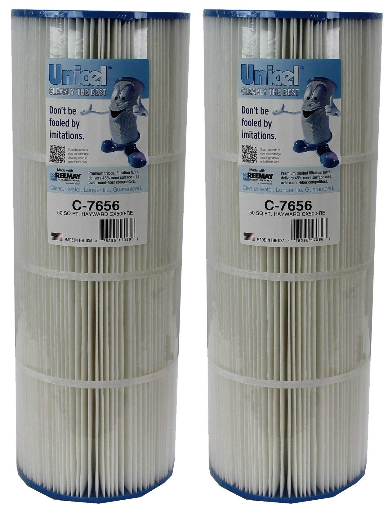 Unicel 2 New C-7656 Hayward CX500RE Star Clear Replacement Swimming Pool Filters