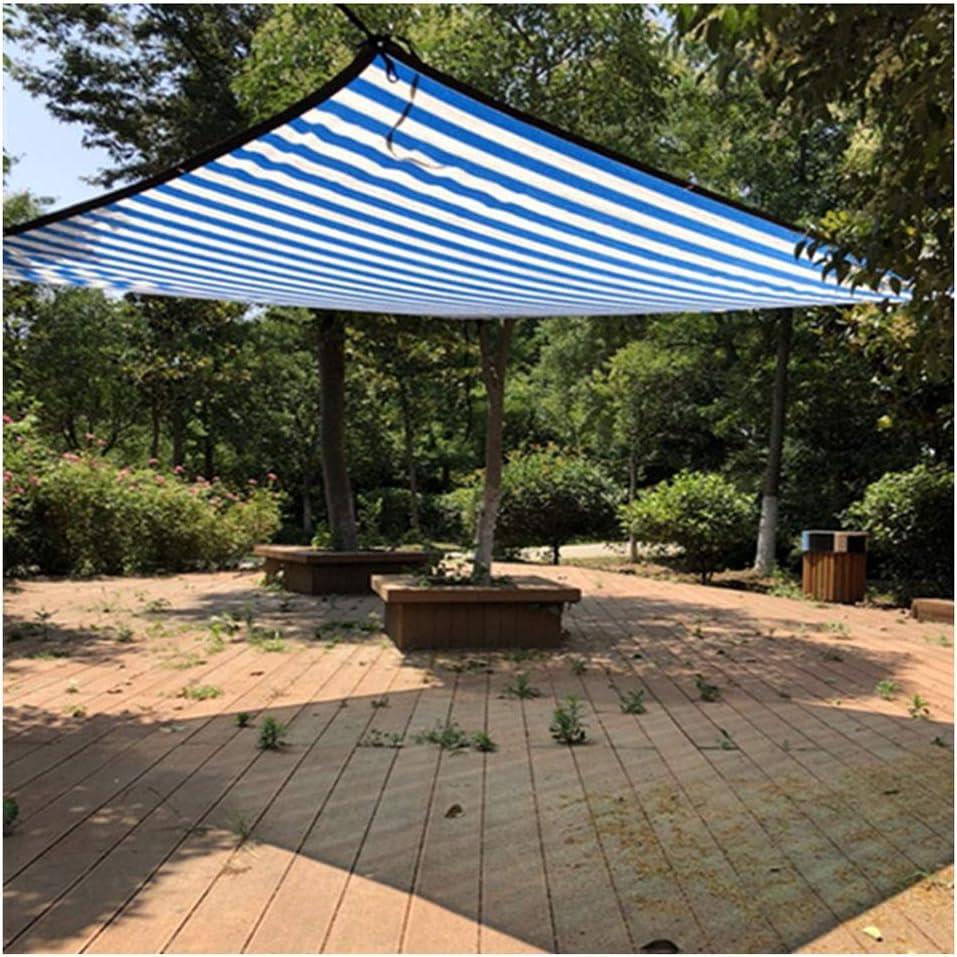 YANZHEN Rete Parasole Telone Telo Sombreado Neto Bloque UV Tono De Sombra 85% Protector Solar Sombreado Al Aire Libre Patio, Tamaño Personalizado (Color : Blue, Size : 6x6m): Amazon.es: Jardín